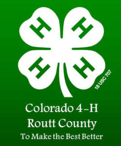Routt County 4-H logo