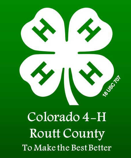 4 H Routt County Extensionroutt County Extension